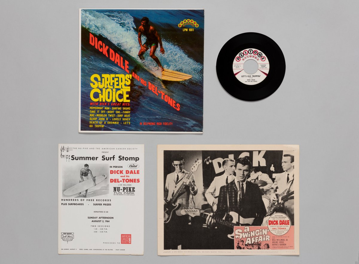 "During the summer of 1961, #DickDale & his Del-Tones played dances known as ""stomps"" to thousands of teenagers in Southern California. As crowds grew, Dale and his group played at increasingly higher volumes, causing amplifiers to malfunction on a regular basis. #InstrumentalSurf"