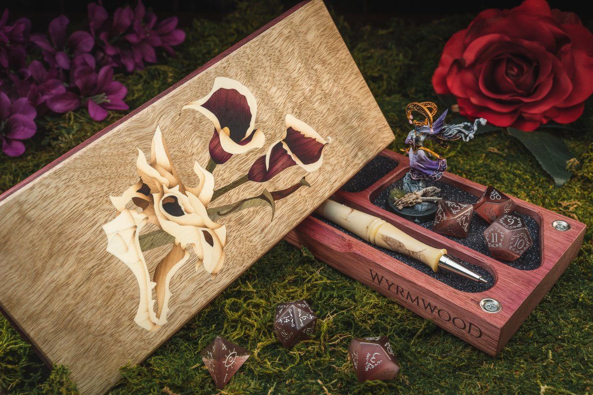 Alright Wyrmfam, we're doing it to you AGAIN  Our crafters, Liz and Michelle keep making gorgeous pieces so we'll keep giving them away! Feast your eyes on the 'Til Death Do Us Part Collection. The crafted pieces shown here are all going to ONE lucky winner.   Rules for entry 👇