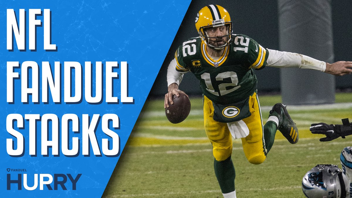 """I think this game for Green Bay is a much different situation than what they had back in Week 6.""  @JimSannes breaks down why he likes a Rodgers-Adams stack ⤵️  Full episode:"