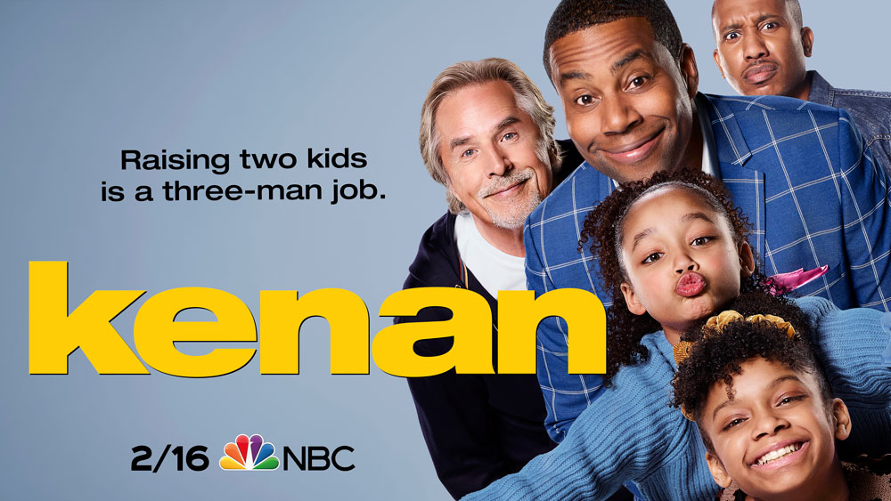 Watch @kenanthompson break into primetime with his brand-new family comedy, #Kenan — premiering February 16 on NBC.