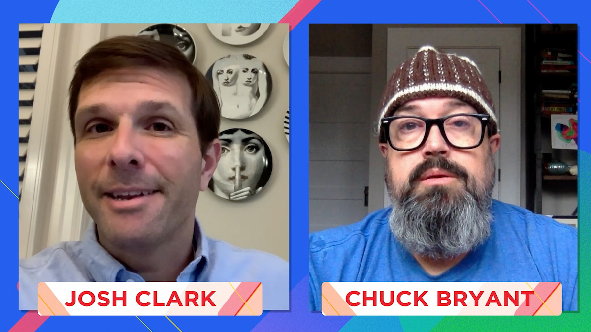 """These nominees are gentlemen, they're scholars, and they're amazing hosts."" ⭐️  Tune in right now as @SYSKPodcast's Josh Clark & Chuck Bryant reveal the 2021 #iHeartPodcastAwards winner for Best Overall Host - Male!  https://t.co/0fPmoNZjJU https://t.co/UrRcGq4j2T"