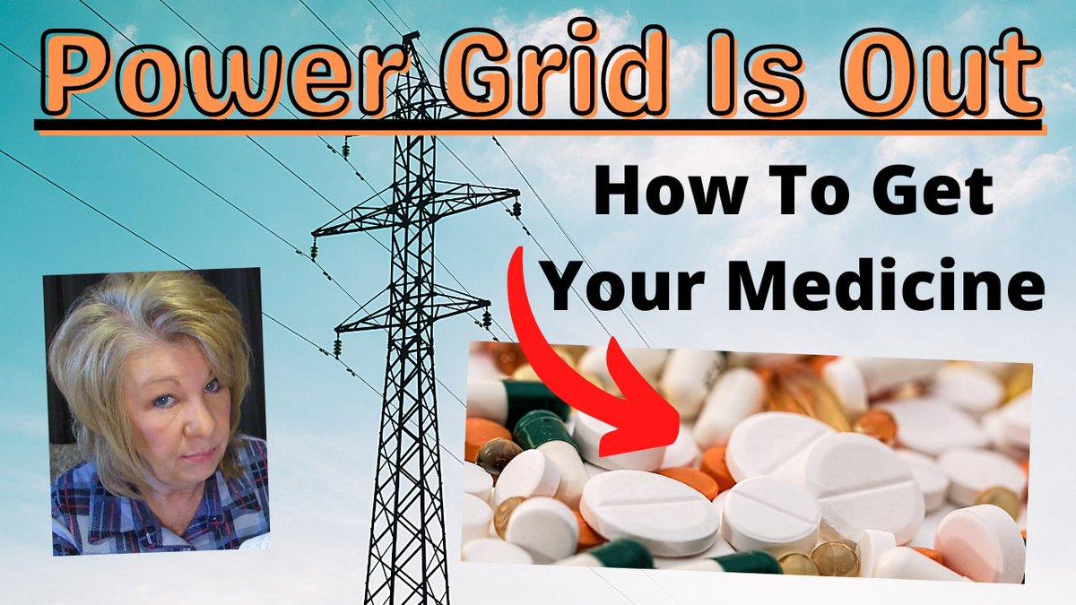How Would You Get your MEDICINE if NO ELECTRICITY or POWER GRID was OUT ...  <<<WATCH VIDEO HERE #dietcokebutton #COVID19 #dndartists #DevoleenaBhattacharjee #viral #vaccine #thursdaymorning #HereWeGo #BernieSanders #BidenErasedWomen #BussItChallenge