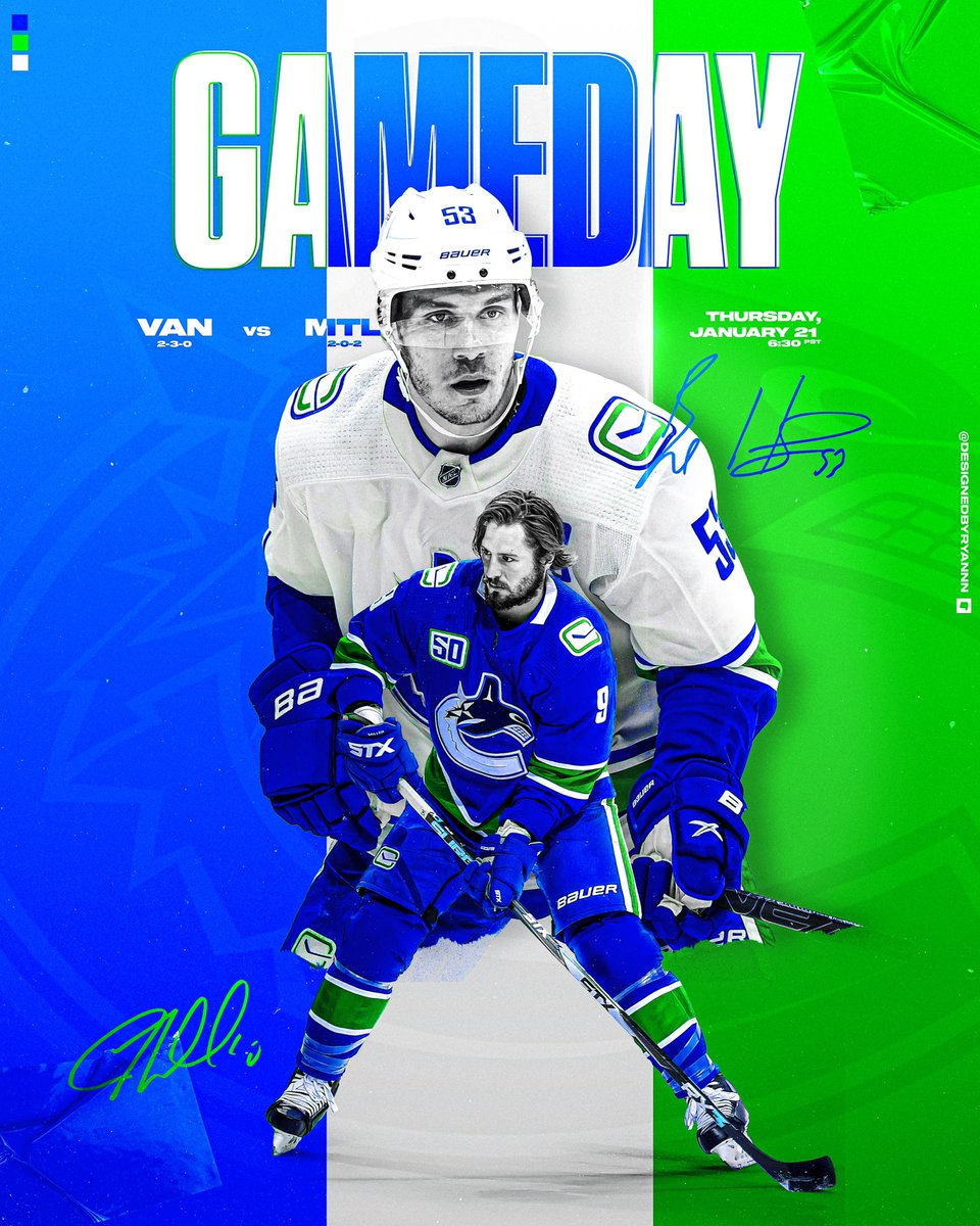 it's gameday! (volume four) — thank you for finally scoring a power play goal edition #Canucks #smsports 📸 creds :: andy devlin