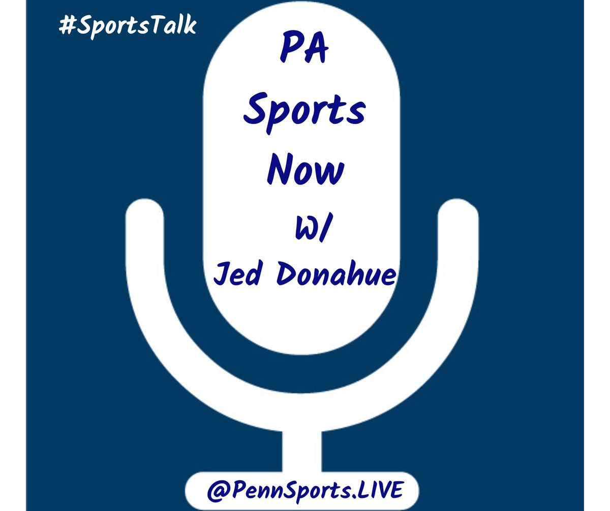 #PASportsNow w/ @PASportsNetwork live streaming at . Guests: @TrojanTim66 @pennsportslive #JustMyTwoCents  @bobgrove91 #Pens #NHL #SportsTalk