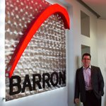 Image for the Tweet beginning: Alan Tracy, CEO of Barron