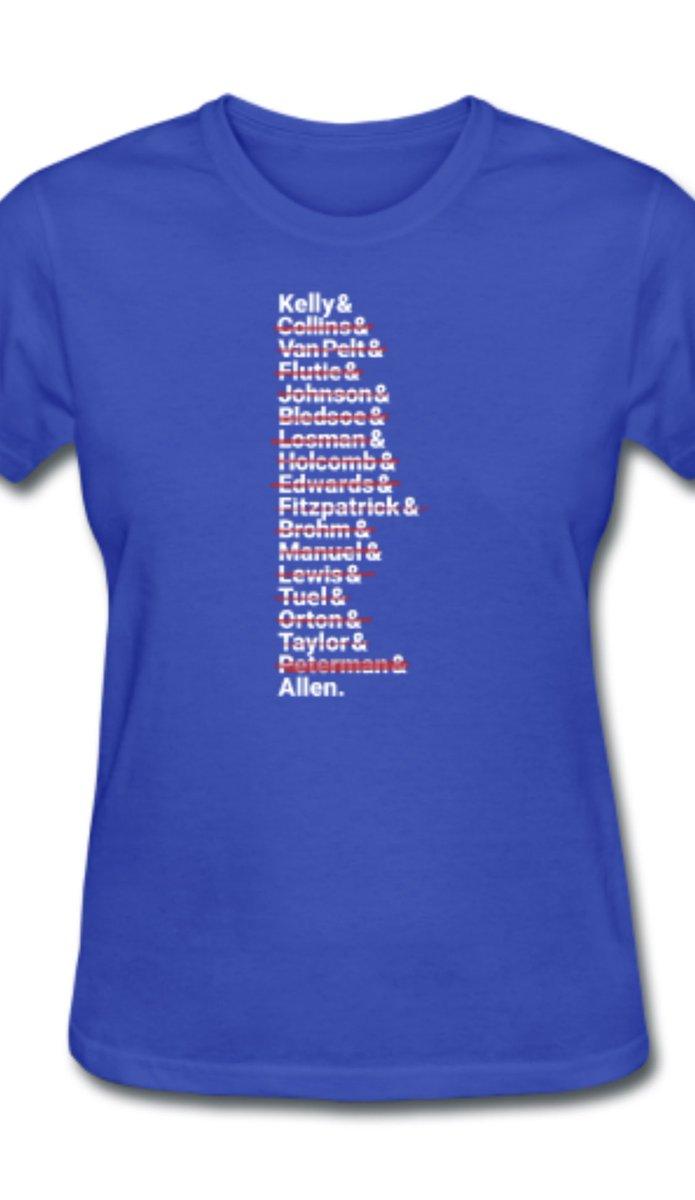 This is about to become my new fav shirt. Thanks @twoeightnine! #BillsMafia #BillsByABillion #joshallen #AFCChampionship