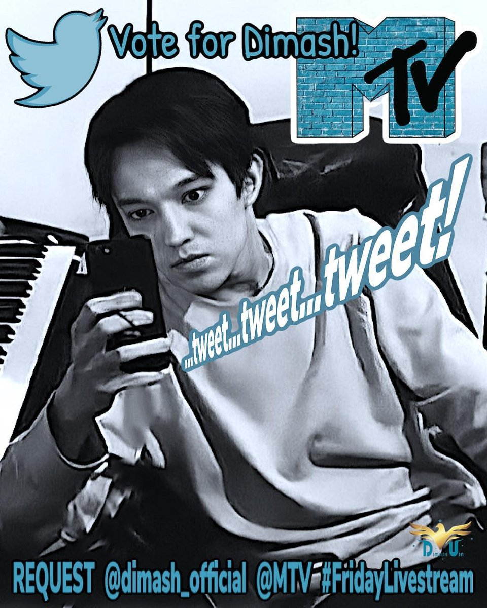 Replying to @PDear152: @MTV @KevanKenney REQUEST @dimash_official for the #FridayLivestream on @MTV   #DimashOnMTV 🙏🙏🙏