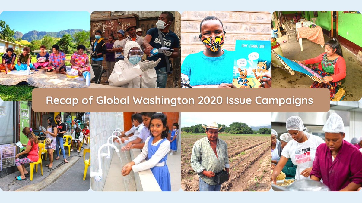 This might be our favorite newsletter of the year: a look back at our 2020 issue campaigns, and a look forward to what we plan to cover in 2021. Check it out.  #SDGs #GlobalGoals