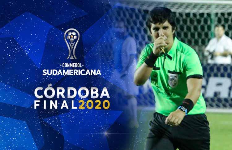 Hassam Zogaib, invitado de lujo en la Final Única de la CONMEBOL @Sudamericana . ✨💫🙌🏻⚽  🔗