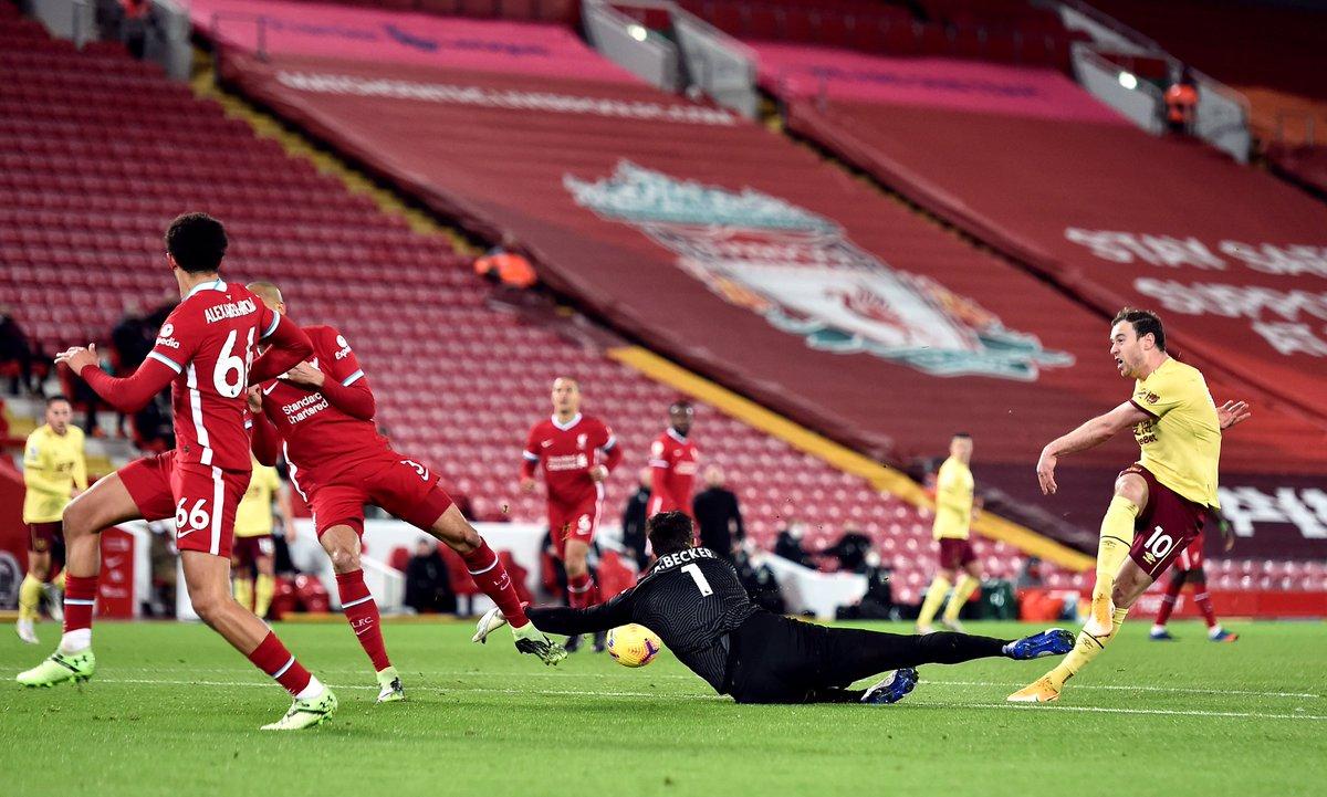 Xem lại bóng đá Liverpool vs Burnley, Ngoại hạng Anh – 22/01/2021