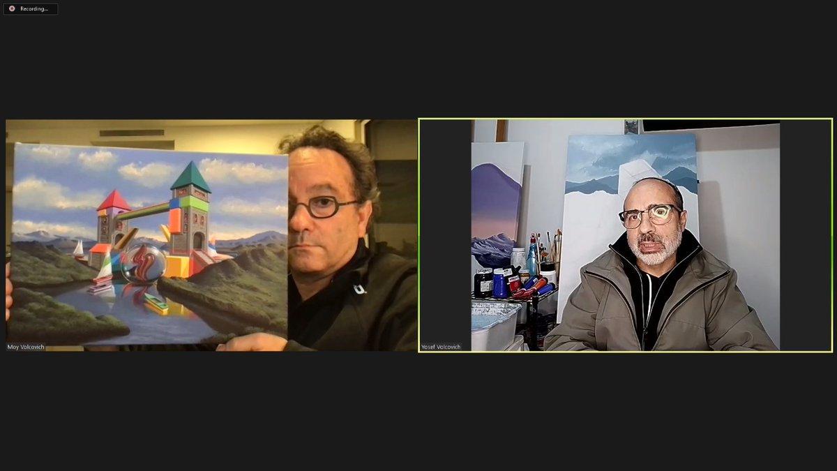 Artistas mexicanos conquistan el mundo con su arte desde Israel: Moy y Pepe Volcovich. Escucha y gana #giveaway   @IsraelinMexico #regalo #Oportunidad @diariojudio @judiosenmexico