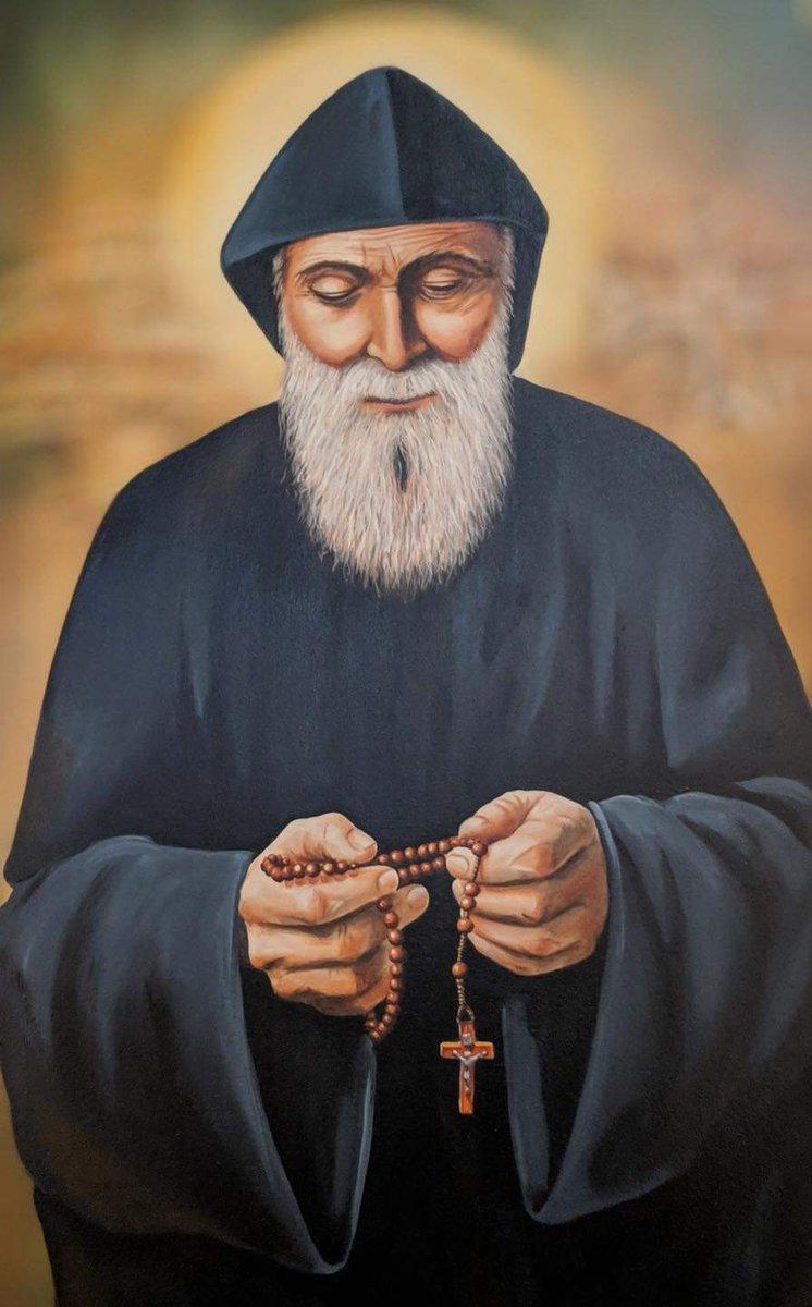 يا شربل صلِّ عنّا! Saint Charbel pray for us! #لبنان #كورونا #كورونا_لبنان #لبنان_ليس_بخير #لبناني #مار_شربل #القديس_شربل #عنّايا #شربل_مخلوف #Lebanon #coronavirus #Corona #Lebanese #Saint_Charbel #Charbel_Makhlouf #St_Charbel