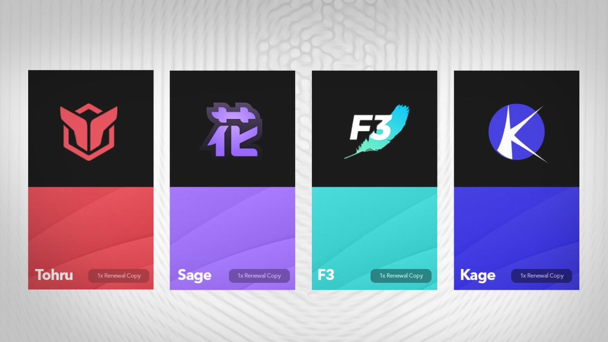 Huge giveaway ❗️  Must follow : @SageFNF @F3ather @KageAIO @TohruAIO_   Like & retweet   Prizes:  1x renewal copy F3  1x renewal key Sage FNF 1x renewal copy Kage AIO  1x renewal copy Tohru AIO   Ends in 48 hours 🤍