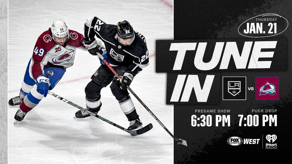 Gameday❗Recibimos en el 🏟 Staples Center de Los Ángeles para el segundo partido de la serie a @Avalanche_VAVEL a las ⏰07:00PM-PT🇺🇸(04:00🇪🇸) #NHLesp #LAKings #GoKingsGo #NHL #Avs #NHLFaceoff #COLvsLAK
