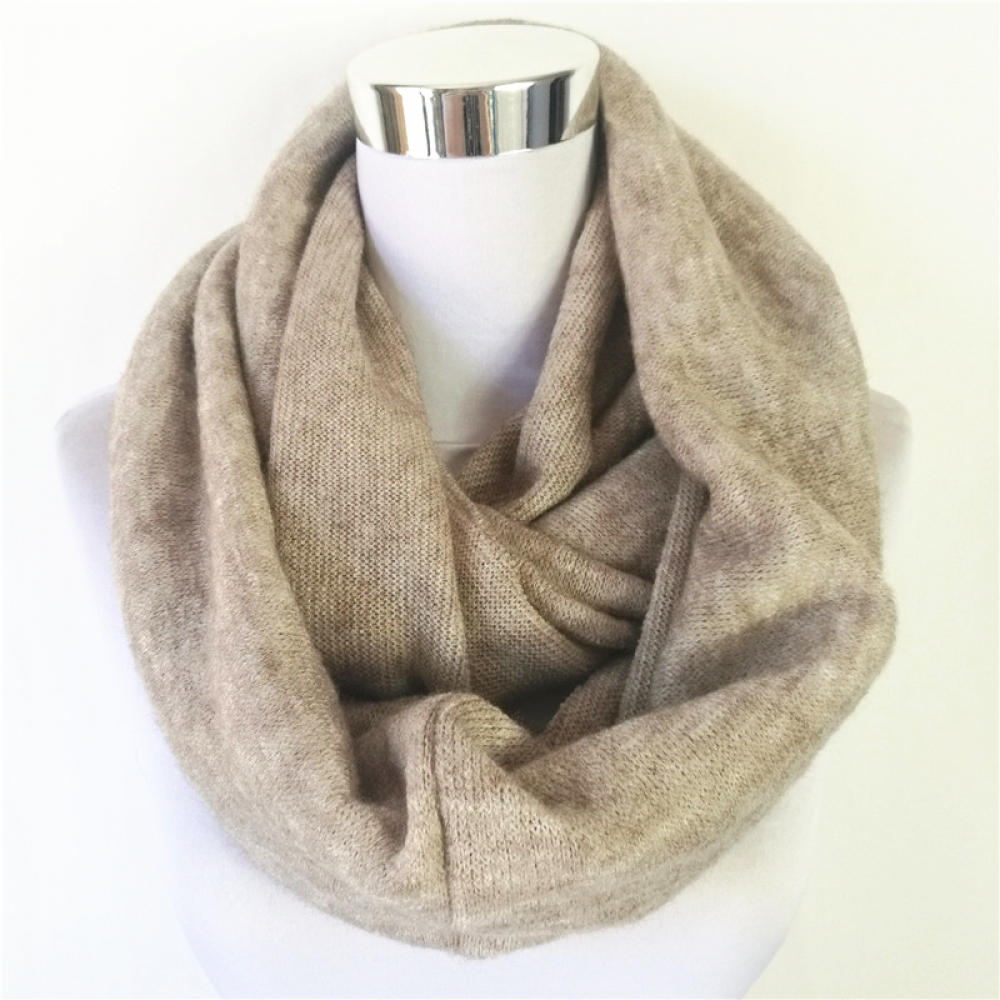 #cool #cute  Women's Cashmere Ring Scarf  16.78