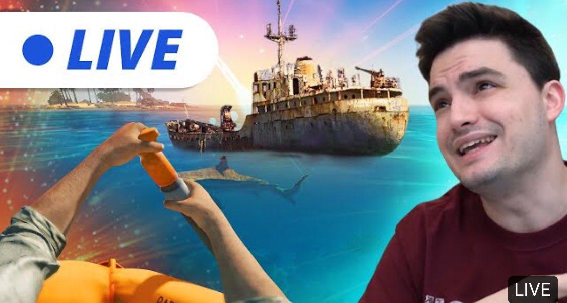 🔴 LIVE - EXPLORANDO O GRANDE NAVIO ABANDONADO! SD#3: