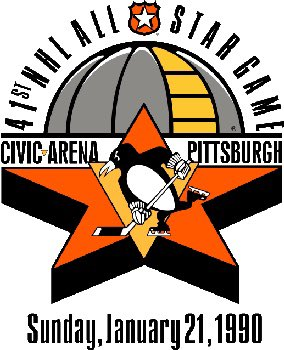 #OTD in 1990, the #NHL held its 41st All Star Game at the Civic Arena in #Pittsburgh. #Penguins Star Mario Lemieux was named #MVP after scoring 4 goals. #NHLTwitter #LetsGoPens