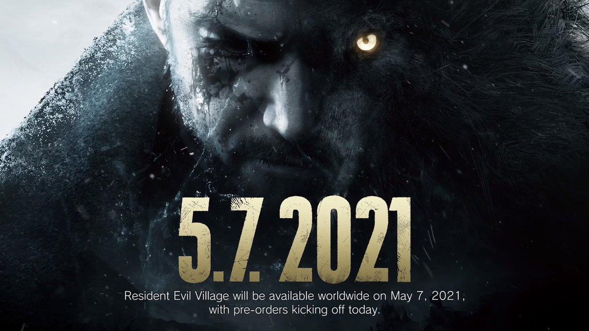 🎮En el #REShowcase de esta tarde, quedó confirmado el lanzamiento de #ResidentEvilVillage para el 7 de mayo en PC, PS5 y Xbox Series X|S. Pero los gamers de PS5, podrán bajar en exclusiva a partir de hoy, un demo visual titulado Maiden😱  ¿Cuántos emocionados por acá?