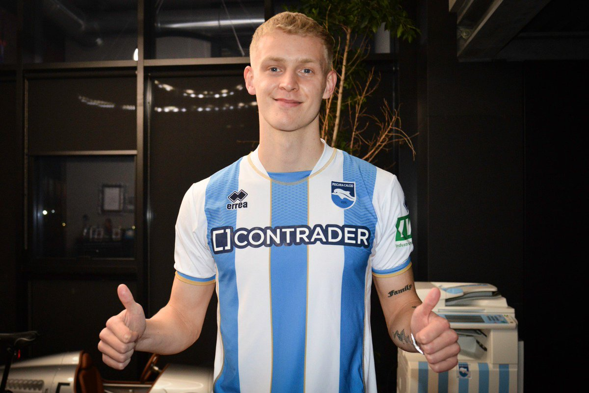 OFFICIAL: Pescara have signed striker Jens Odgaard on loan until the end of the season from Sassuolo. https://t.co/E9RxFIMeUg