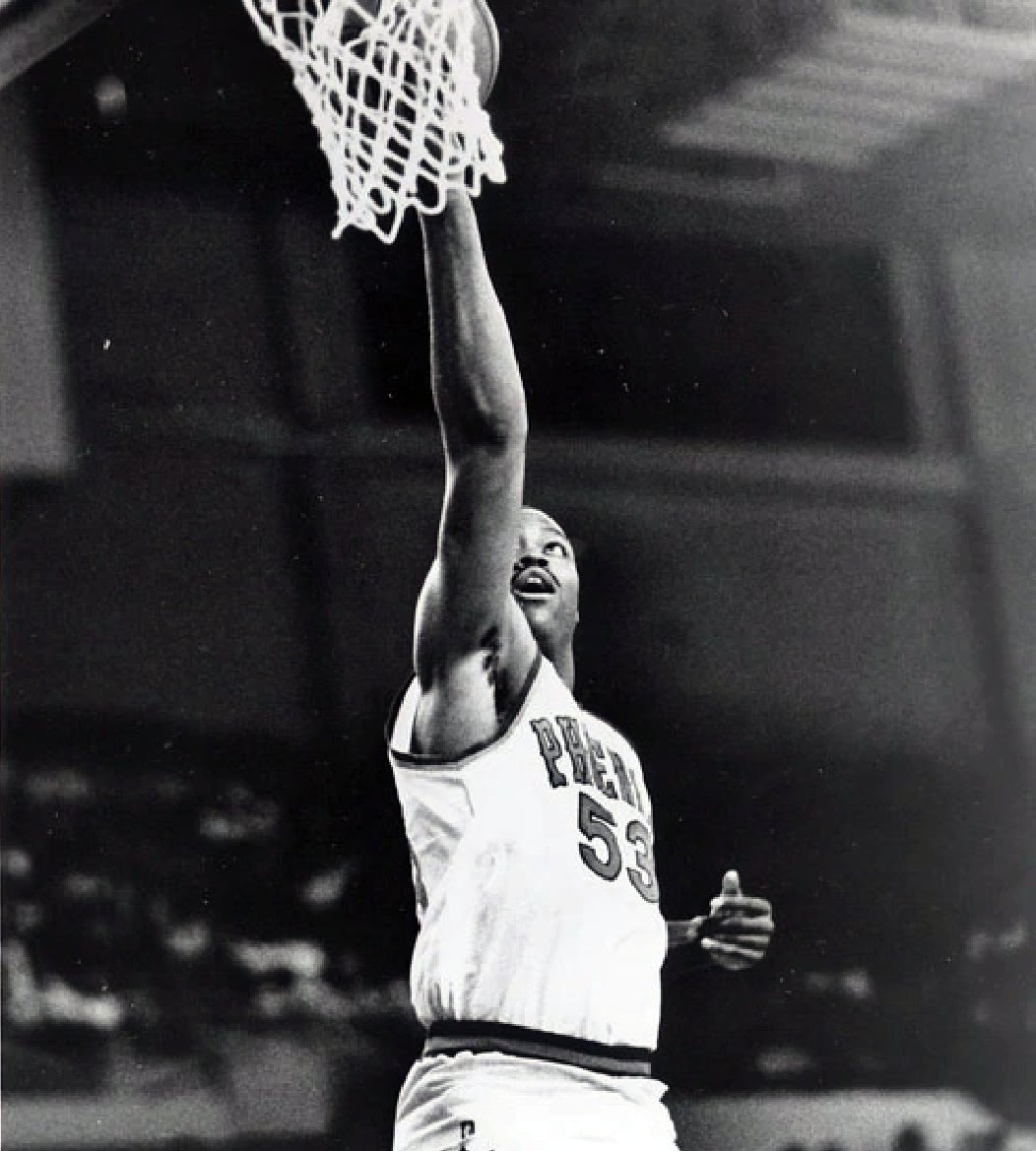 """""""Who's Ron Moore?"""" you might ask.  Well, this is Ron Moore.  """"And why was his nickname 'Stump Mitchell?'"""" you might also ask.  Well, according to @thejohnsalley in the Detroit Free Press in 1987: Because """"his arms look like stumps."""""""