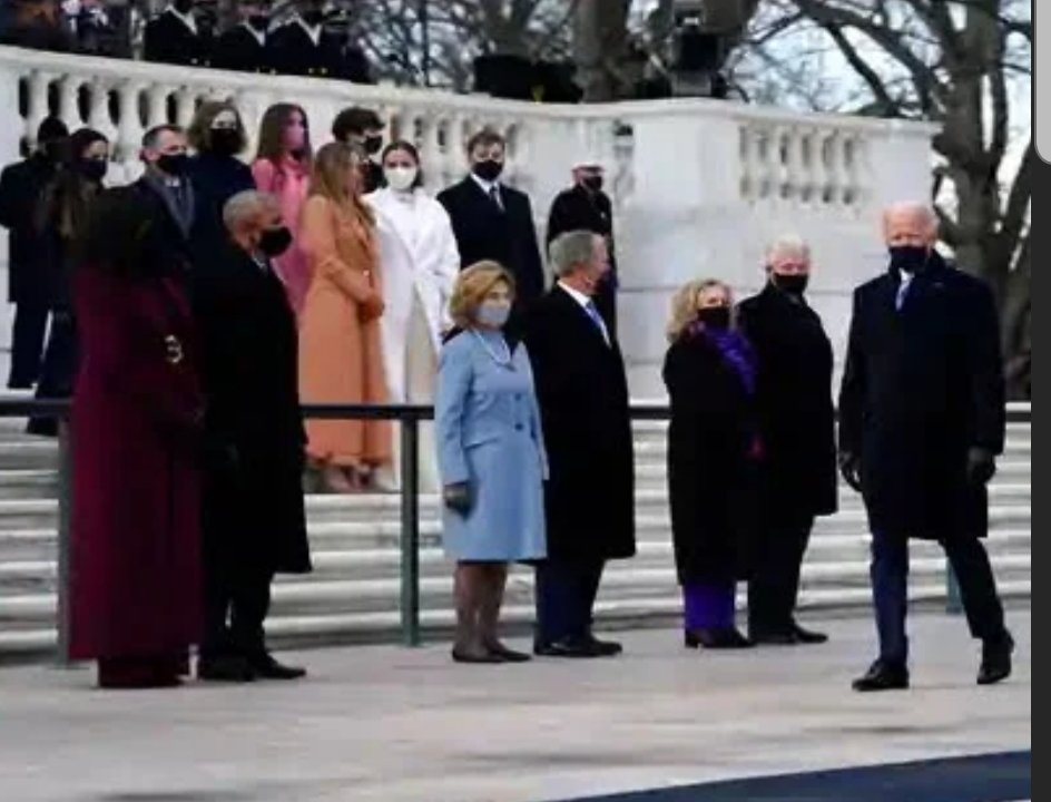 Feel as you will about our current affairs, any picture of [almost] all the living presidents is awesome. #Respect. #Inauguration2021 #BidenHarris2020 #presidents #history #cool @ArlingtonNatl