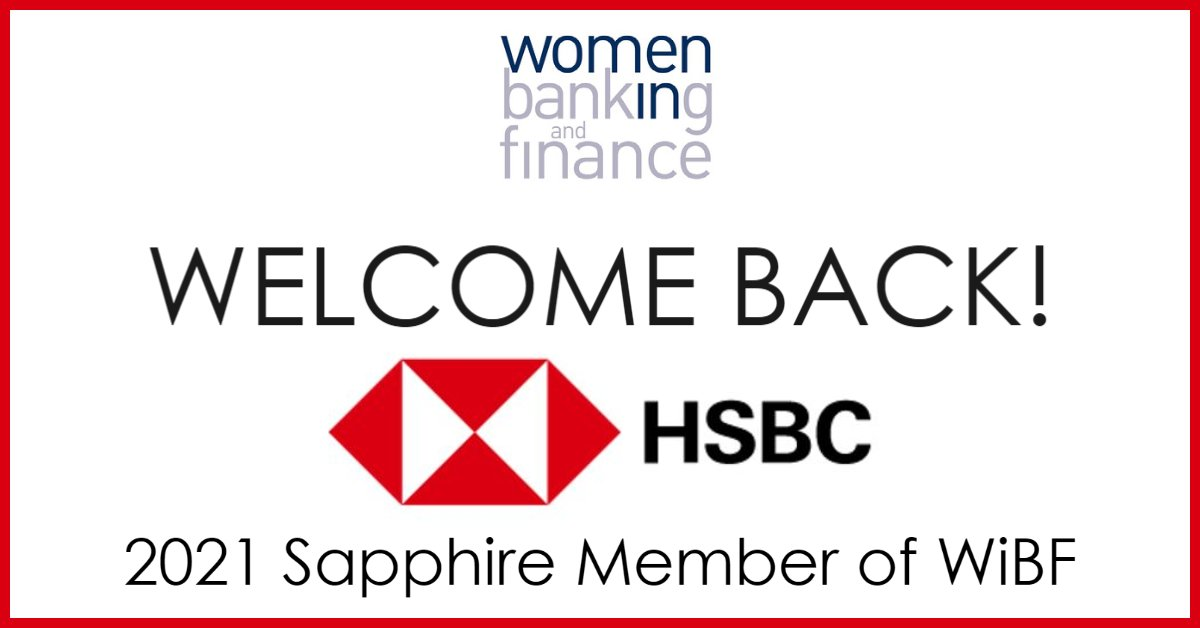 We are delighted to welcome back @HSBC_AUS as a Sapphire Corporate Member of WiBF for 2021! We value your support of our association run by members & for members of Australia's banking & finance sector. #wibf #banking #finance #financialservices #financialinclusion #partnership