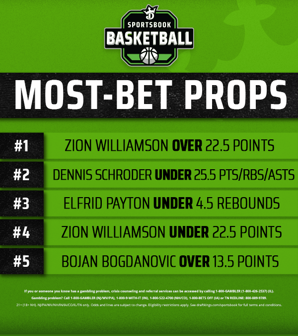 Replying to @DKSportsbook: TONIGHT'S MOST-BET PROPS 🏀🏒  What props are you riding tonight?
