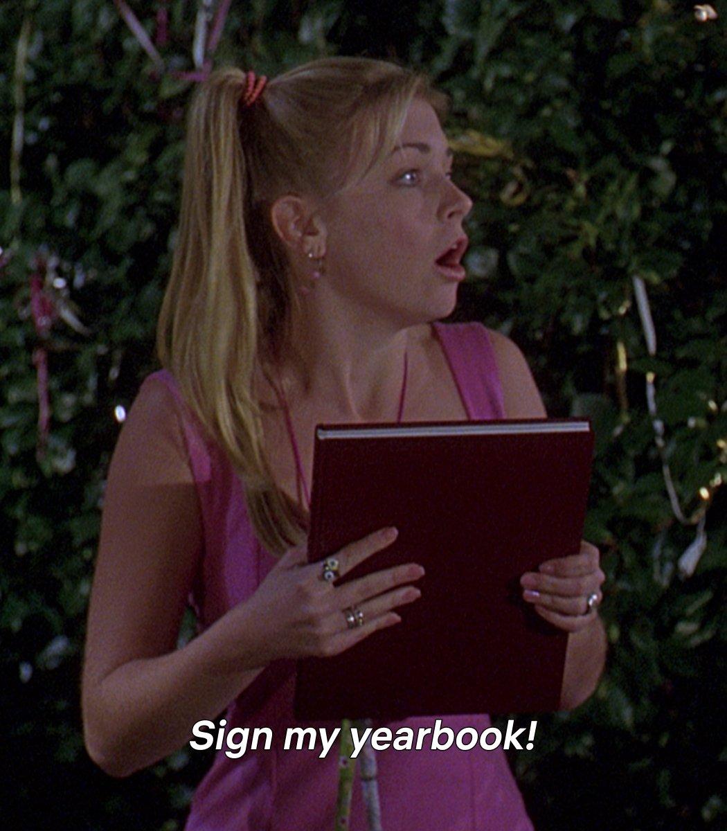 Dear Sabrina,   Signed,  Sabrina