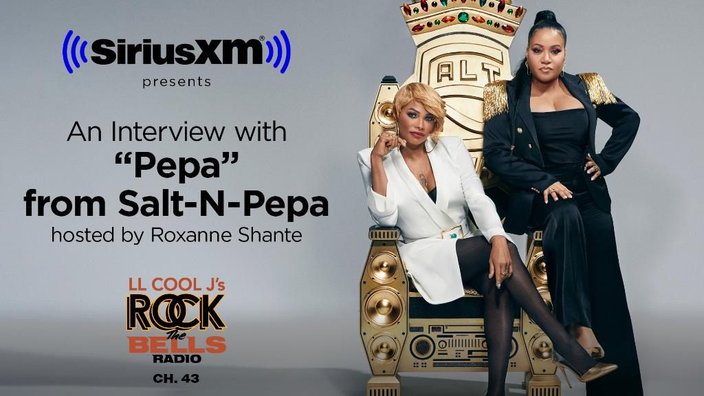 Relive the rise of @TheSaltNPepa during a mighty good conversation with @ImroxanneShante on @RockTheBells Radio. Details: