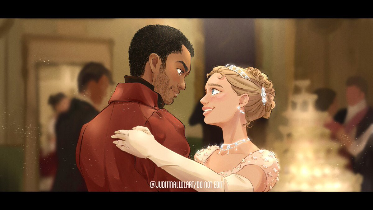"""""""Stare into my eyes""""   I'm so obsessed with this show- please i'm a sucker for period dramas 🥺✨🤍  #Bridgerton"""