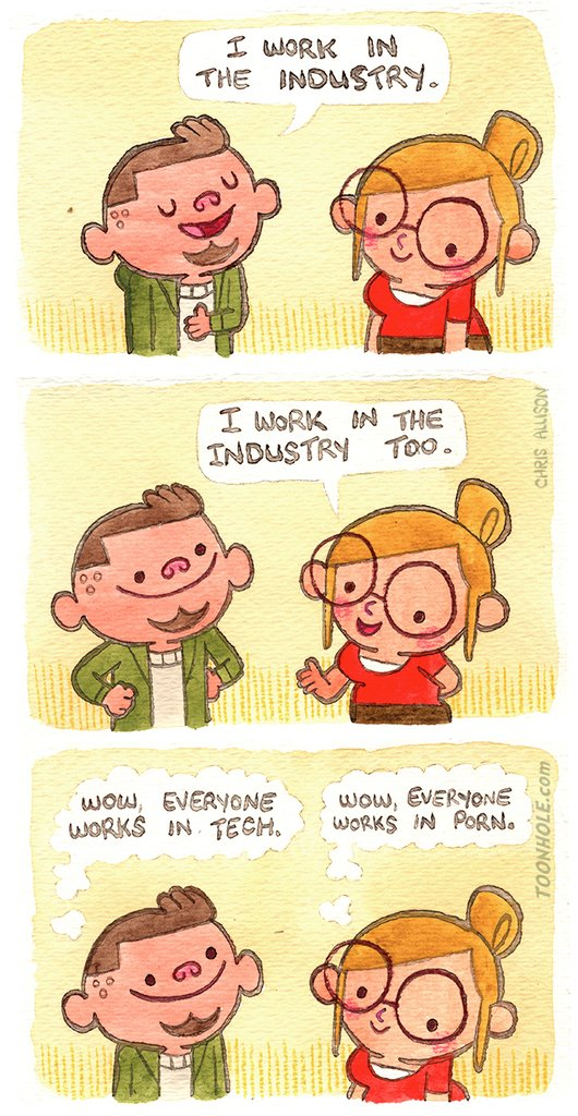 The Industry via /r/funny  #funny #lol #haha #humor #lmao #lmfao #hilarious #laugh #laughing #fun #wacky #crazy #silly #witty #joke #jokes #joking #epic #funnypictures