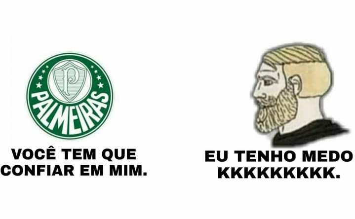 Veja a repercussão e memes nas redes da derrota do Palmeiras para o Flamengo pelo Brasileirão