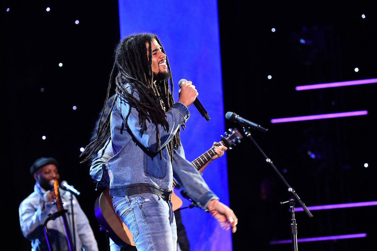 We're chatting with Skip Marley, who's nominated for Best R&B Song and Best Reggae Album at the #Grammys! Send us all of the questions you would love the singer to answer.