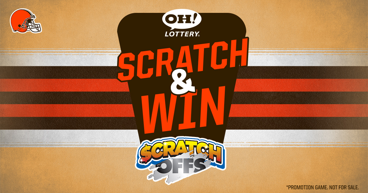 Feeling lucky? 🤔  You could win a $100 Browns merchandise gift card from our @OHLottery Scratch & Win!  Play now »