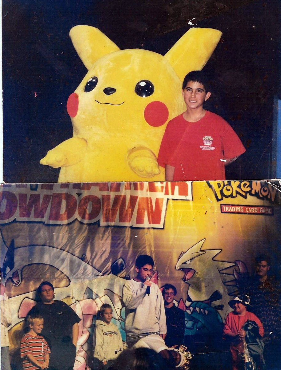 Oh, here's me at said tournament! I was 13. Now I'm 32!