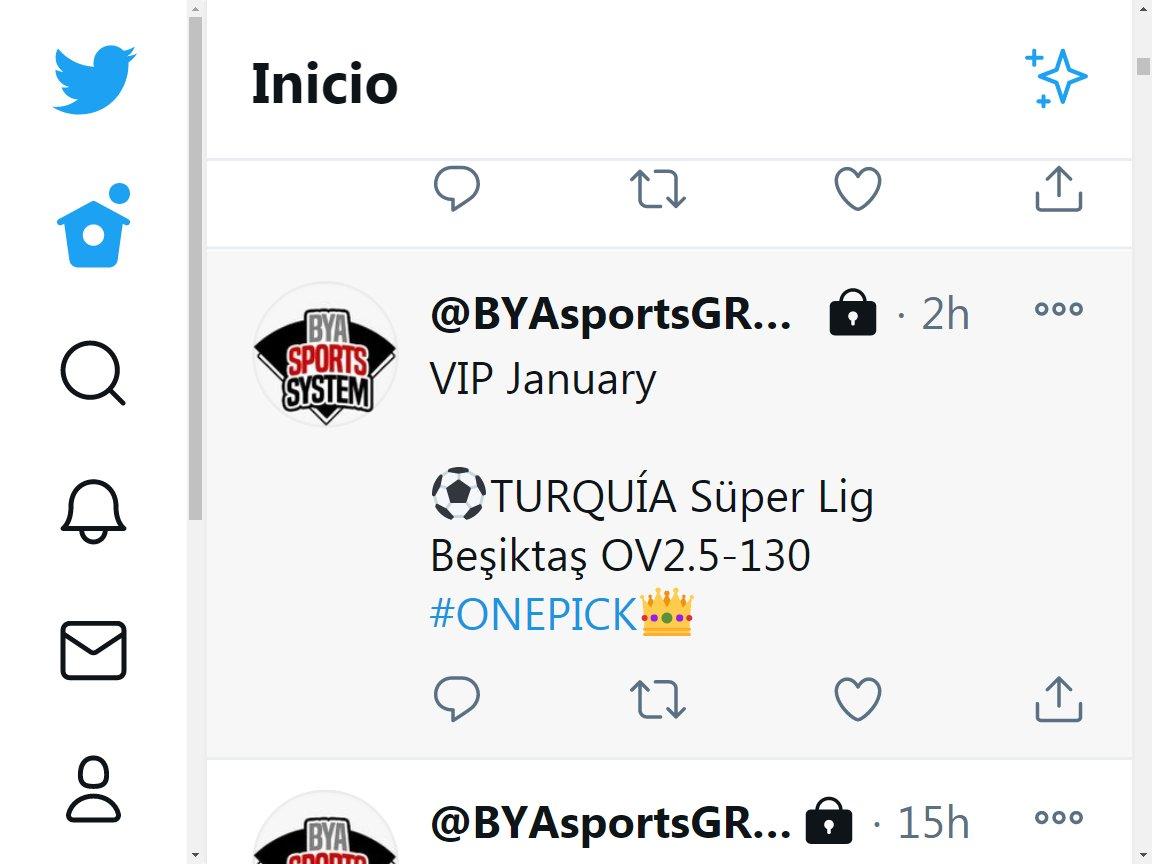 Terminamos el dia sumando, seguimos la semana  3 #VIP verde ✅✅✅✅  esta noche #POWERPICK 💎 NHL & CBB [5U]  vamos por todo 💪💪💪💪💪  ✅3U Beşiktaş OV2.5-130 ✅2U Leuven OV2.5-127 ✅2U Atlético ML -122  🔴2U Fenerbahçe ML +118 🔴2U Kasimpasa OV2.5-124  +1.5U✅✅✅✅ https://t.co/6iGRQtM4LJ
