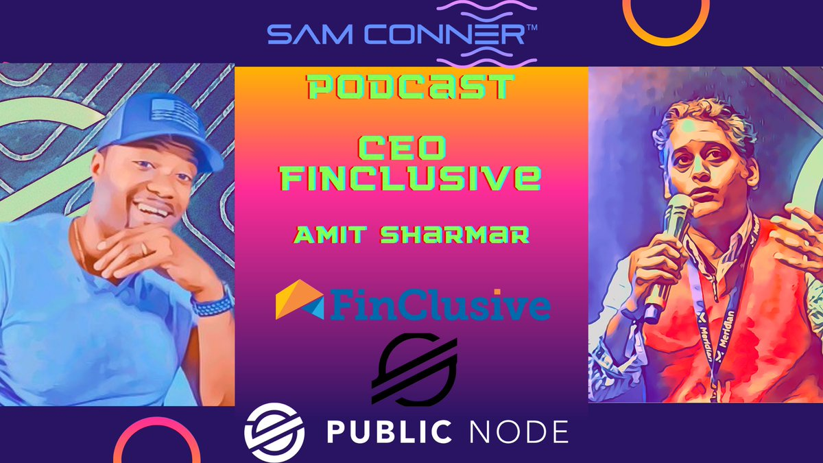 I can't hold on to this any longer! Tomorrow, hear from @ASharma_VT, CEO of @FinClusiveCap. Formerly with the @USTreasury, helped create #AML, on board @FDD_CEFP as he shares how they're leveraging @StellarOrg to bring #FinancialInclusion to the #Globe! #XLM @publicnode