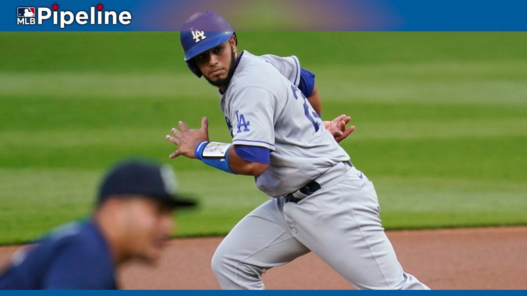 For the fourth straight year, the #Dodgers' Keibert Ruiz makes our preseason list of baseball's Top 10 Catching prospects:
