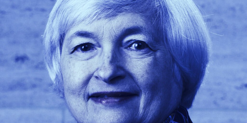 Janet Yellen Clarifies Stance on 'Curtailing' Cryptocurrency Use  ►