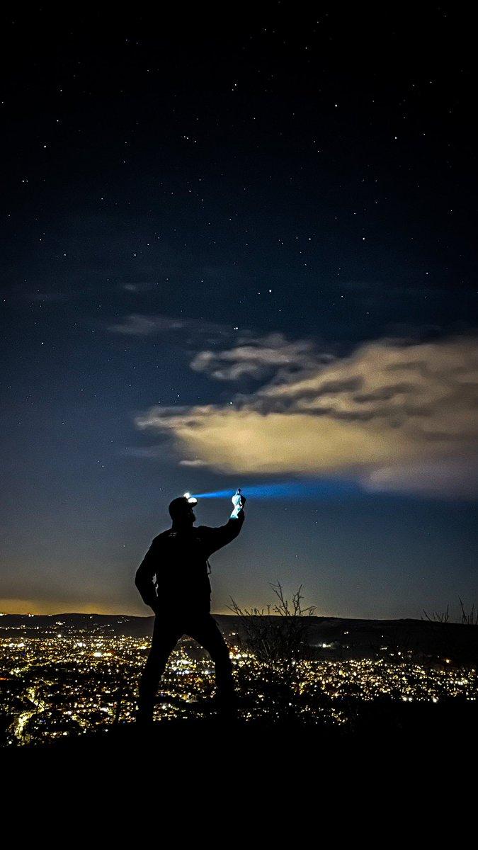 "Stars - ""Even in the darkest nights, the stars shine bright"" #stars #shotoniphone  #pic #photography #Gloucestershire #cheltenham #picoftheday #hiking #stars #night #sky #cool #image #smile #selfie #light #dark #instagram #different #positive #adventure"