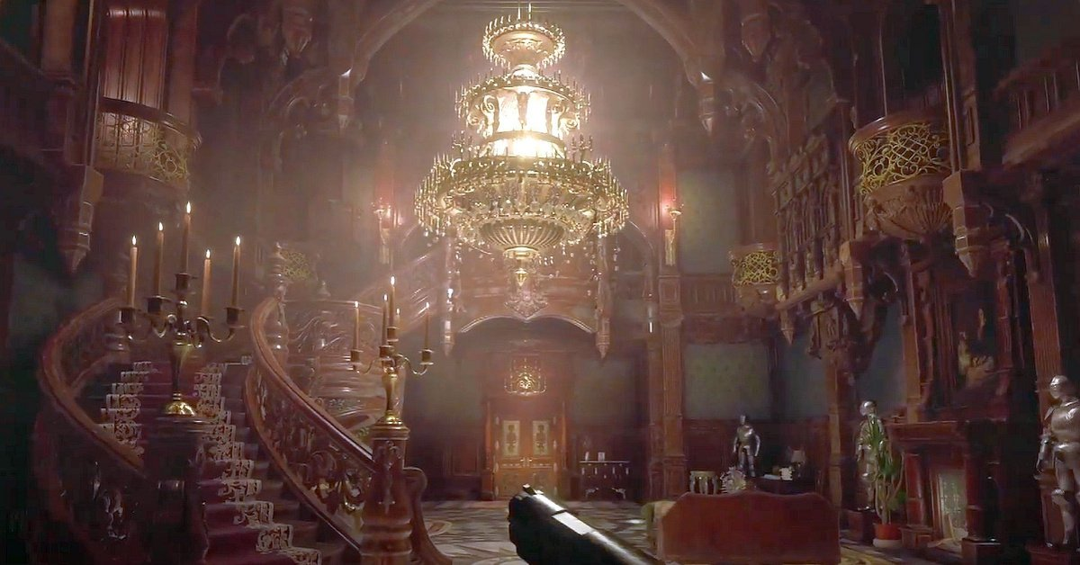 I don't play Resident Evil games. Do they typically revolve around castles? I don't think they do. So is it crazy to say that this game looks like a first person castlevania. #ResidentEvil #ResidentEvilVillage #capcom