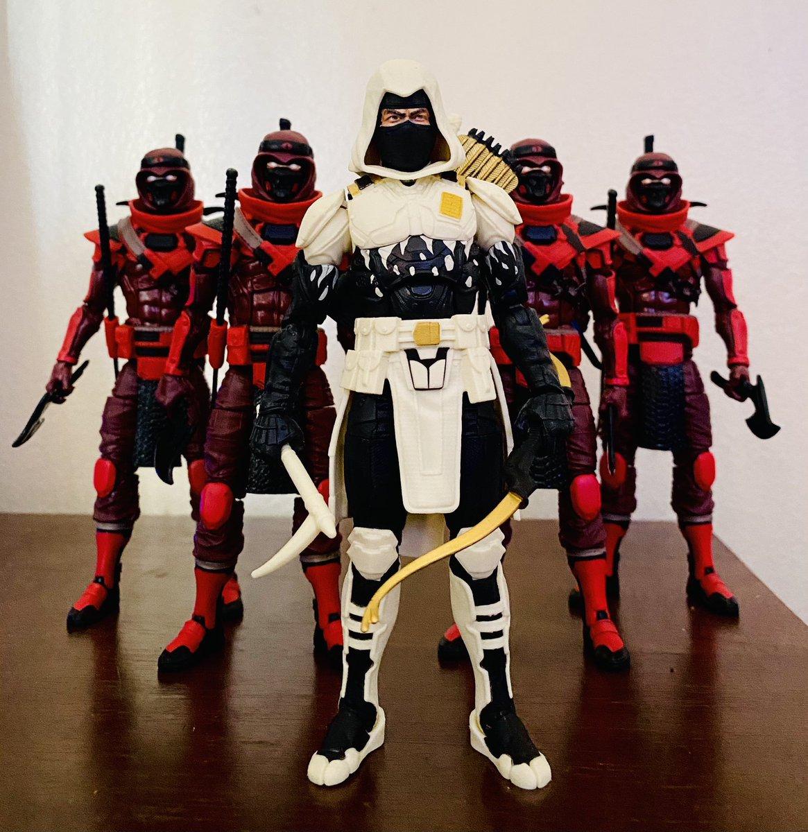 Cobra ninjas #Gijoe #Gijoeclassified #Cobra #Stormshadow
