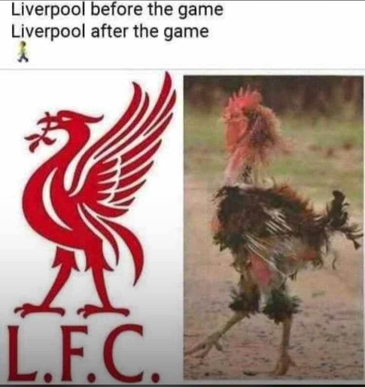 They never walk alone but they're lonely tonight... wiase nyɛ baakofoɔ dia ampa😃😃😃😃 Klopp back to default settings #LIVBUR