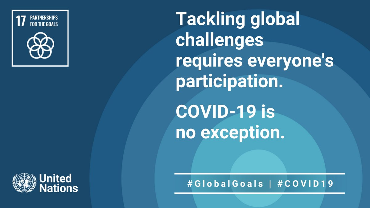 """""""It is my hope that support to those most vulnerable, respect for human rights & adherence to the principle of leaving no one behind, remain foremost on our minds.""""  -- @UN_PGA on #COVID19 recovery at #UNGA."""