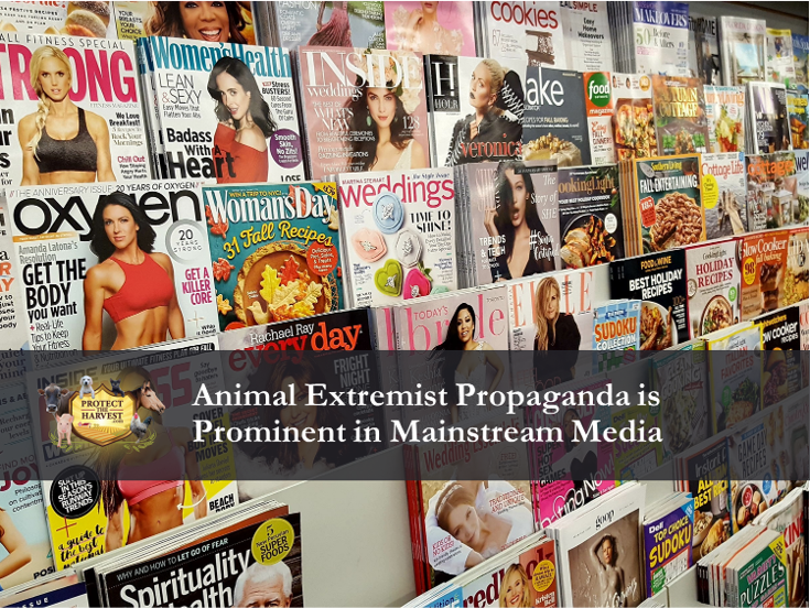 "Animal extremist messaging is prominent in #MSM.   Make sure you ""consider the source"" when reading articles and watching newstories and videos about animals.      #animals #animalsfun #AnimalsDoWhat #AnimalWelfare #AnimalHealth #animallovers #animalrescue"