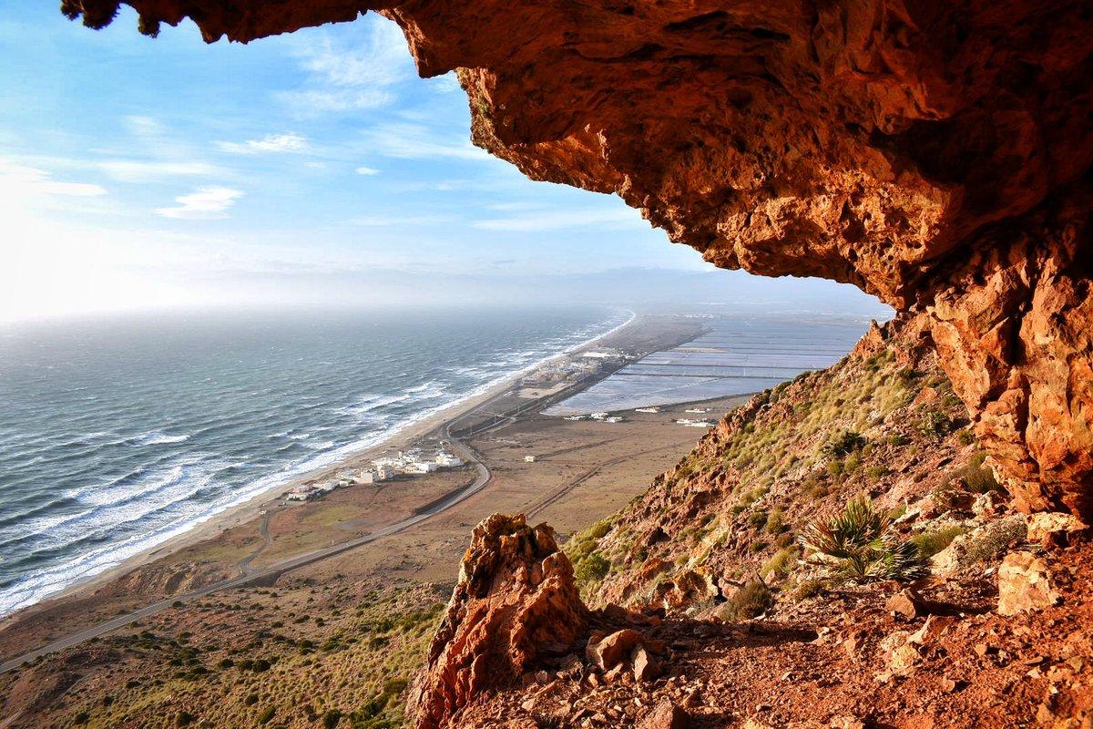 Las Salinas desde otra perspectiva. #CabodeGata #Almería