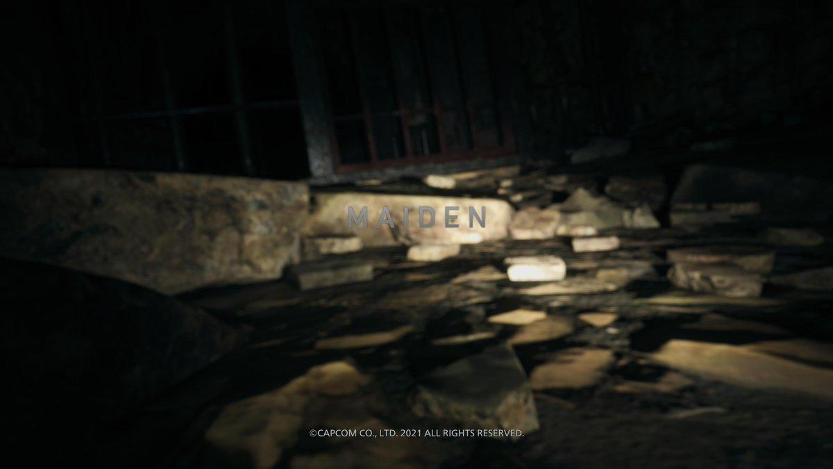 C'est parti pour la démo de #ResidentEvilVillage ! #PS5, #MAIDEN