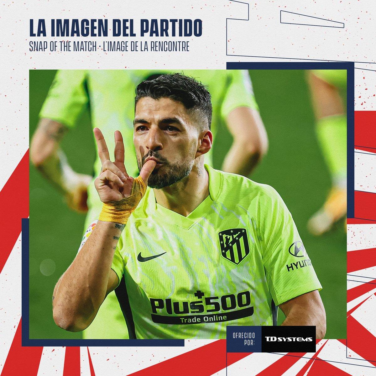 How many points tonight, @LuisSuarez9?  🔴⚪ #AúpaAtleti   ⚽ #EibarAtleti