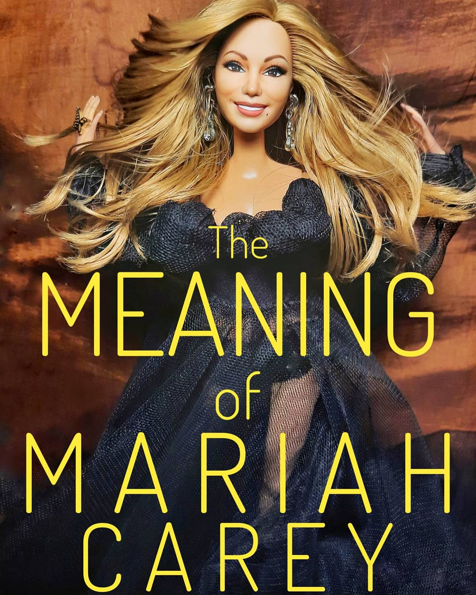#throwback to one of my favorite recreations, The Meaning of @MariahCarey doll 🥰🥰🥰  I still have my high hopes that Mariah would finally release her official @Barbie doll anytime soon!   #themeaningofmariahcarey #lambily #lambs #mariahcarey #mariahcareydoll