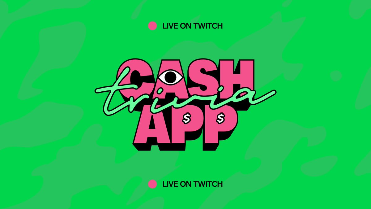 We're live with #CashAppTrivia. Come play along at